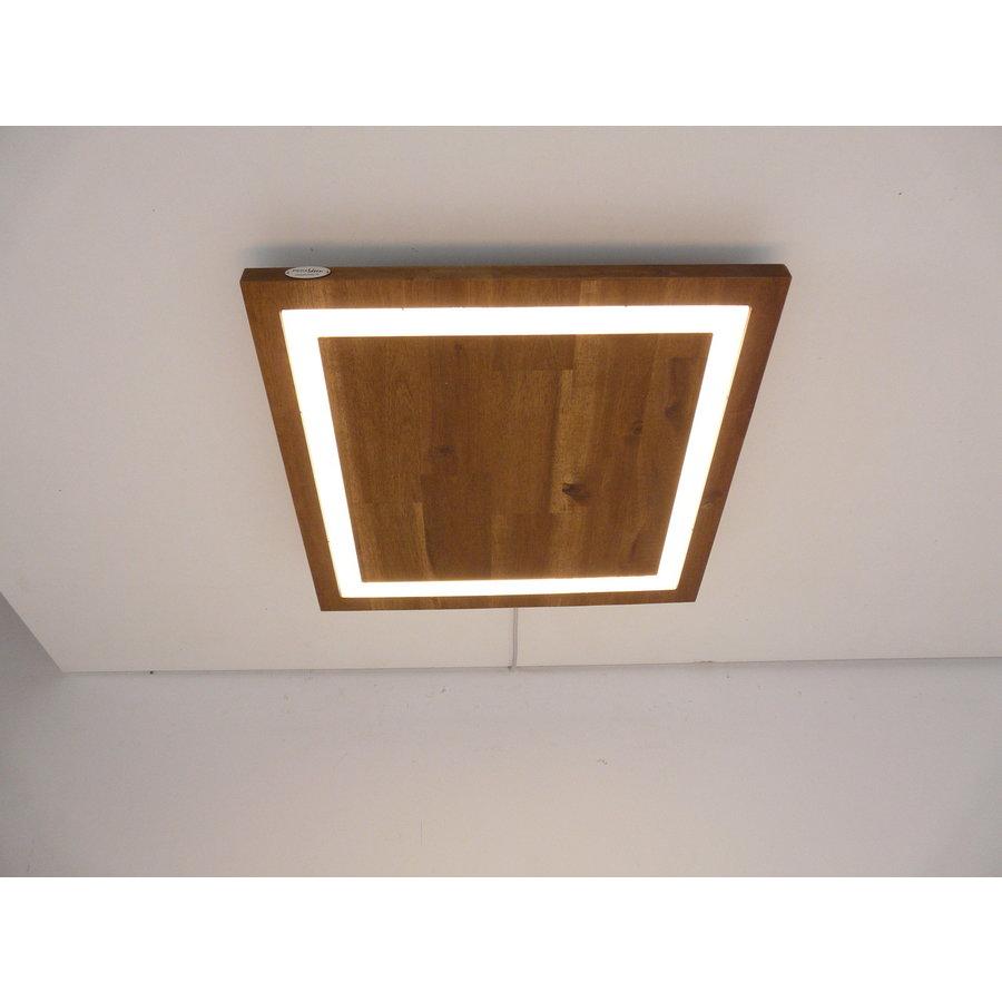 LED Deckenleuchte Holz Akazie  39 x 39 cm-3