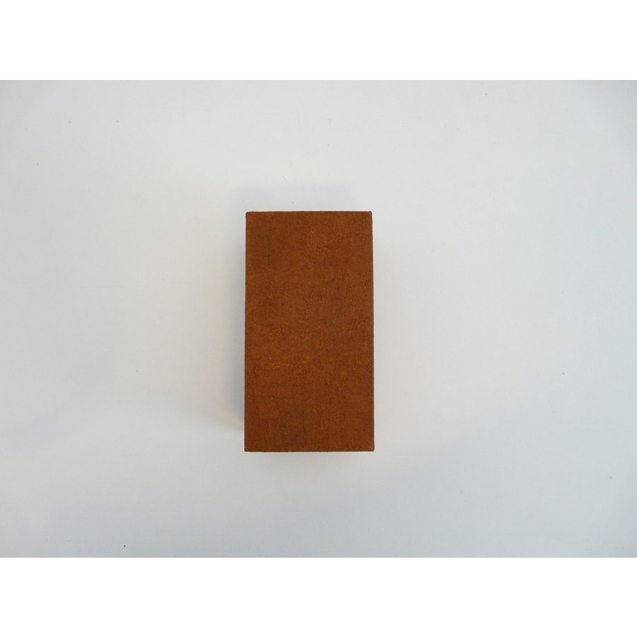 Wandleuchte Holz Rostfarben-4
