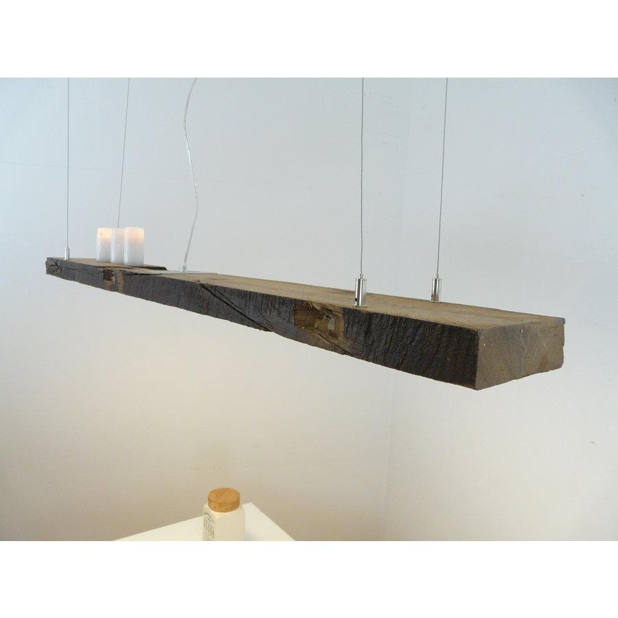 rustikale LED Lampe Hängeleuchte antik Balken-3