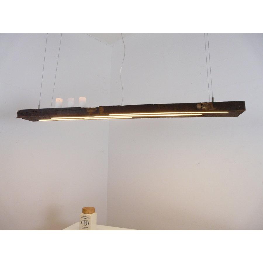 rustikale LED Lampe Hängeleuchte antik Balken-7