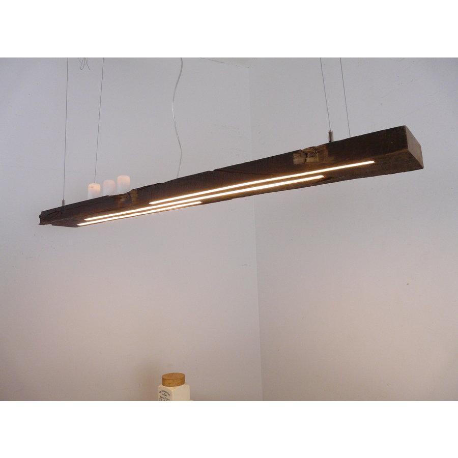 rustikale LED Lampe Hängeleuchte antik Balken-1