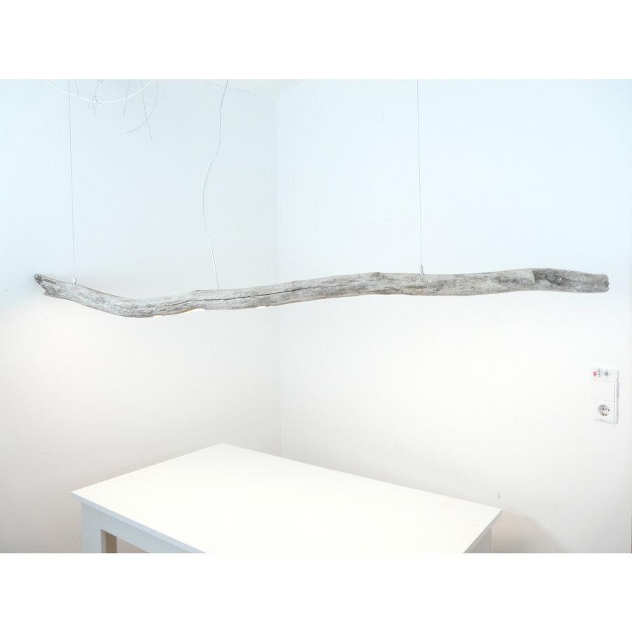 extra große Treibholz Hängeleuchte-3