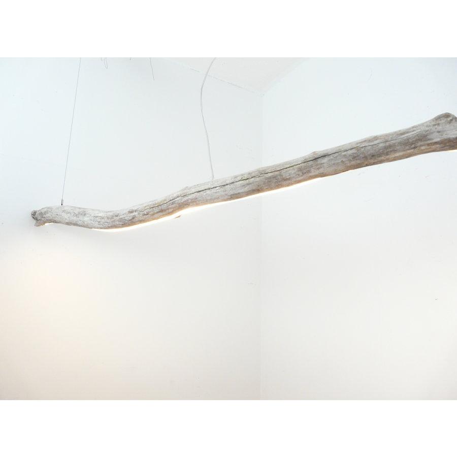extra große Treibholz Hängeleuchte-1