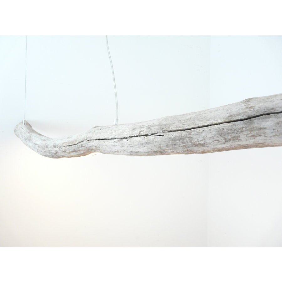 extra große Treibholz Hängeleuchte-6
