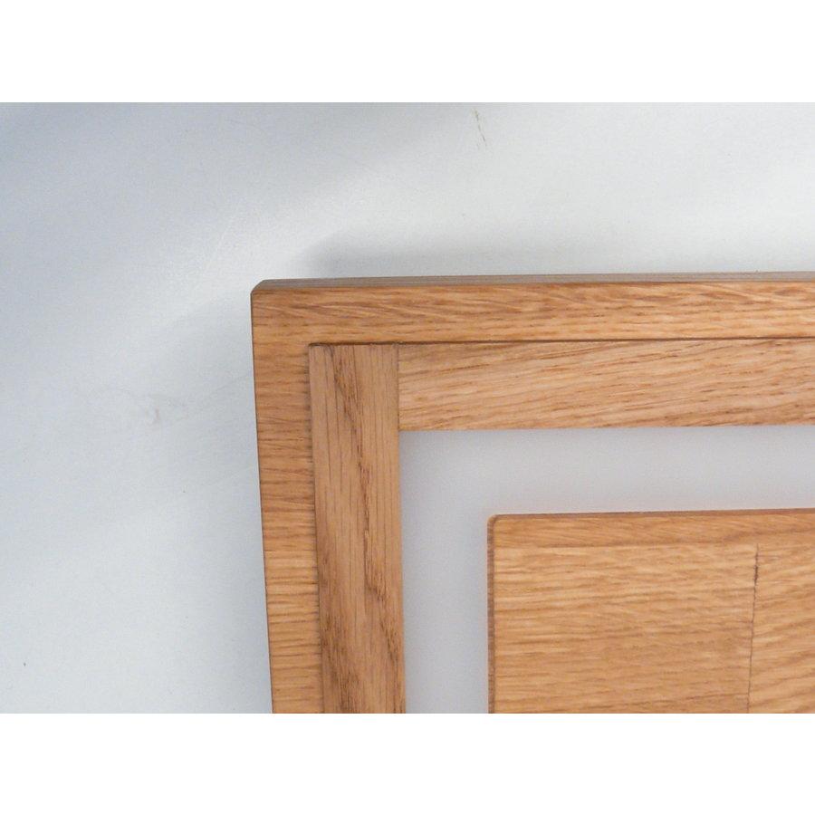 LED Deckenleuchte Holz Eiche geölt  39 cm x 39 cm-6