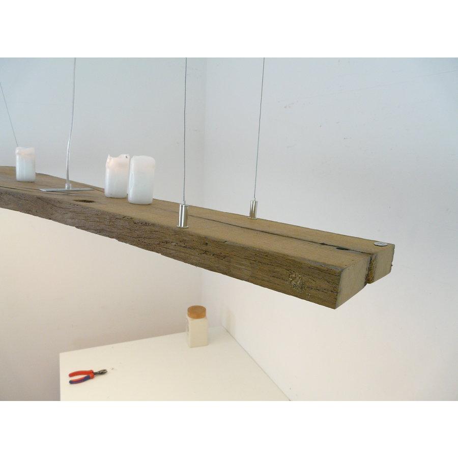 XL LED Lampe Hängeleuchte antik Balken-7