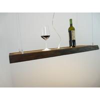 thumb-Esstischlampe Hängeleuchte aus antiken Balken-4