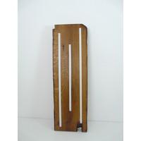 thumb-Esstischlampe Hängeleuchte aus antiken Balken-6