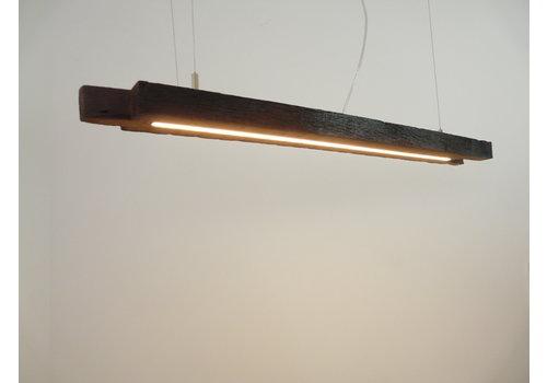 Esstischlampe Hängeleuchte aus antiken Balken