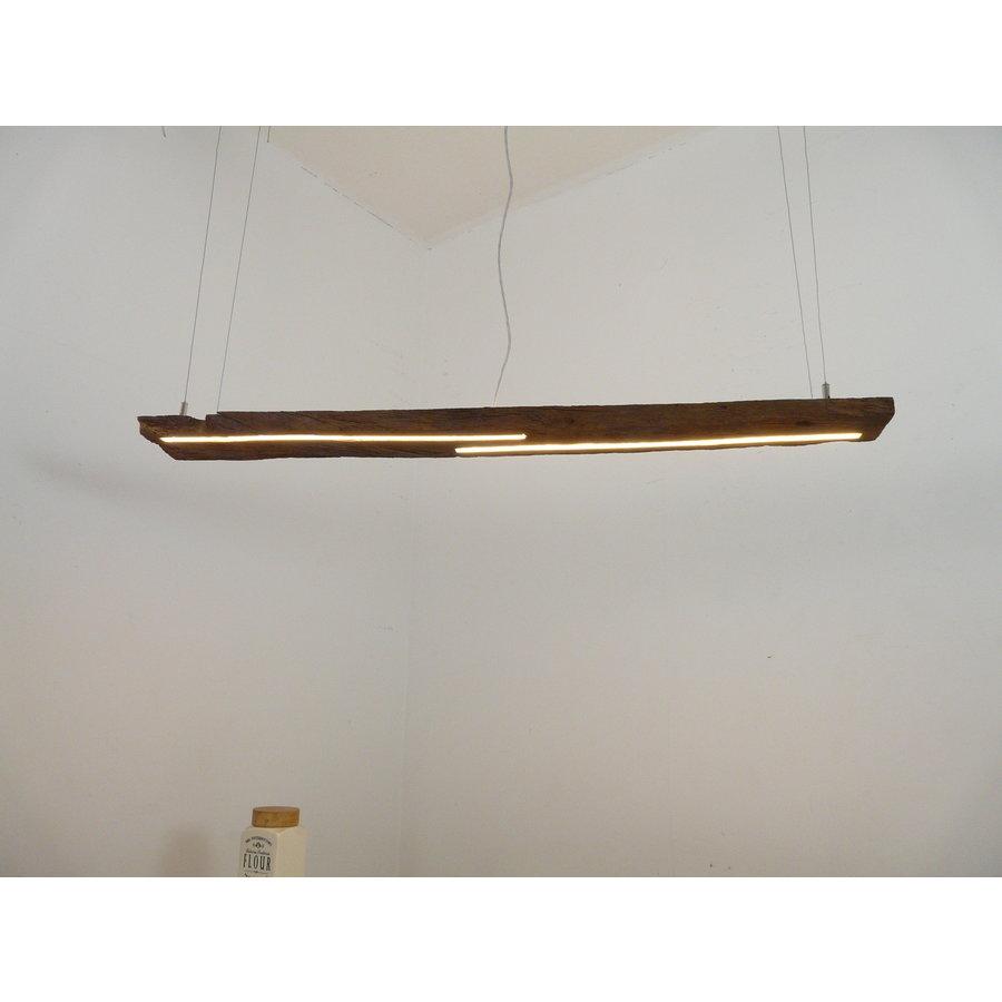 LED Lampe Hängeleuchte Ober/Unterlicht Holz antik Balken-1