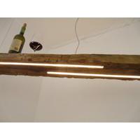 thumb-XL LED Lampe Hängeleuchte Holz Eiche Balkenlampe-2