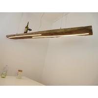 thumb-XL LED Lampe Hängeleuchte Holz Eiche Balkenlampe-3