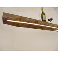 thumb-XL LED Lampe Hängeleuchte Holz Eiche Balkenlampe-5