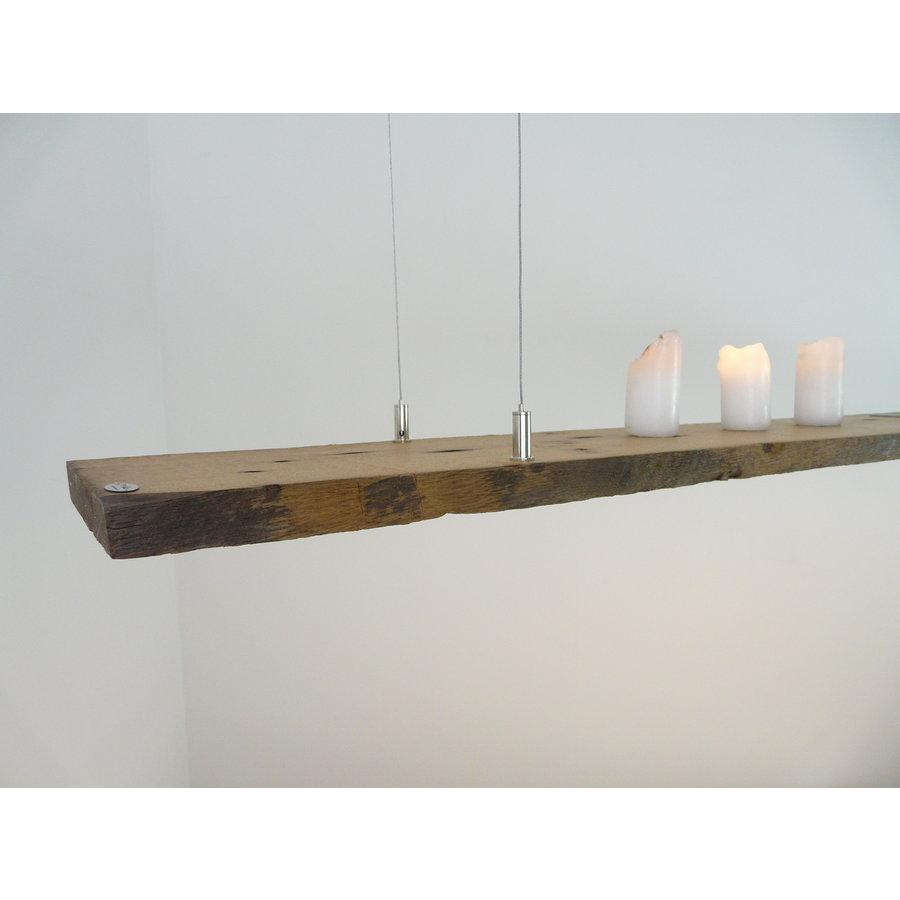 rustikale LED Lampe Hängeleuchte antik Balken-6