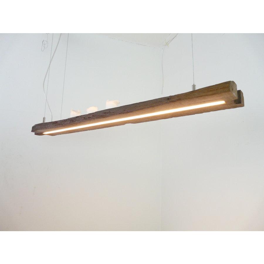 Esstischlampe Hängeleuchte aus antiken Balken-6