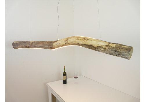 Treibholz Hängeleuchte mit Ober- und Unterlicht