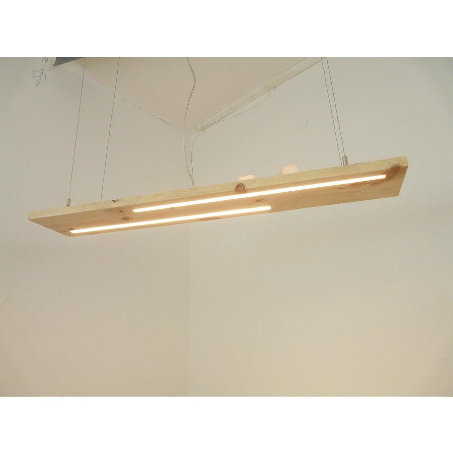 Esstischlampe Hängeleuchte aus Zirbenholz-1