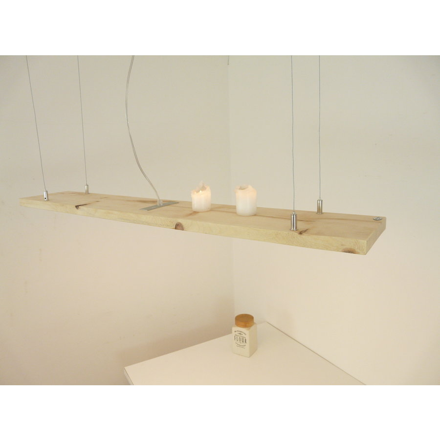 Esstischlampe Hängeleuchte aus Zirbenholz-2
