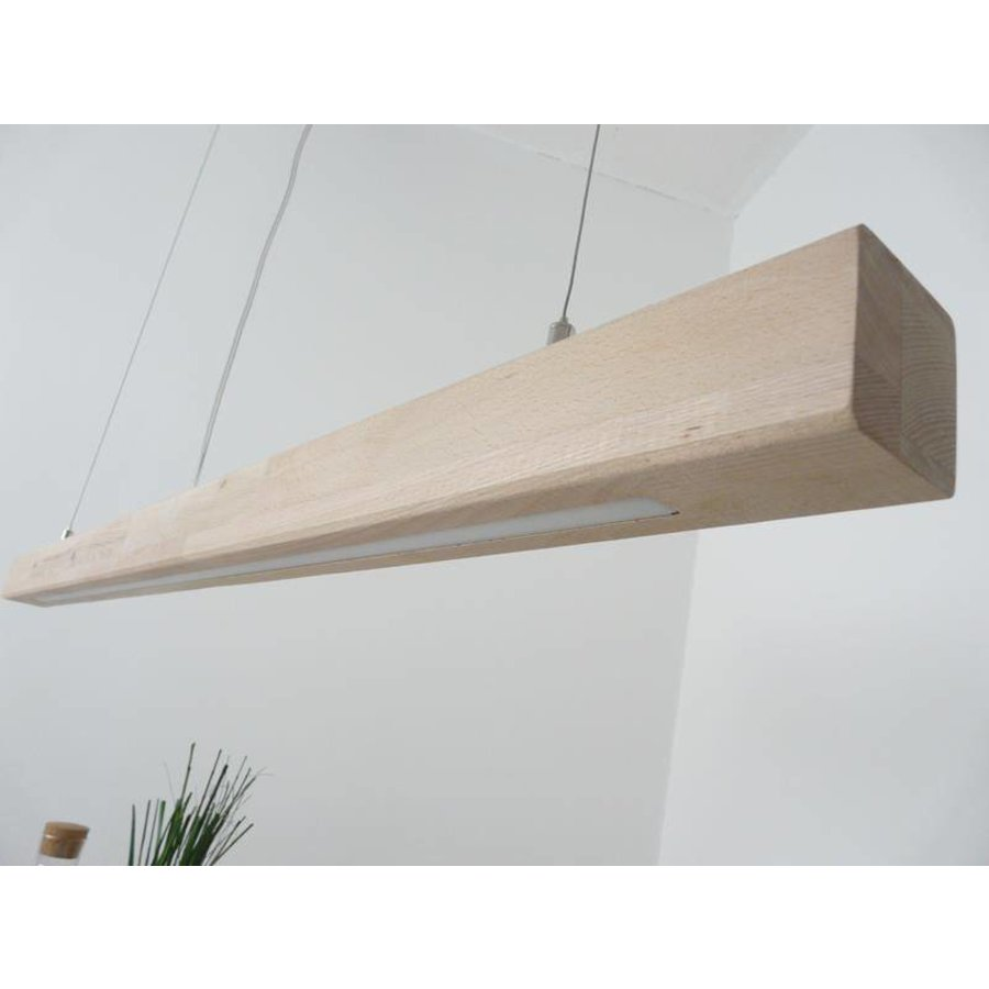 Hängelampe Esstischlampe Holz Buche-6