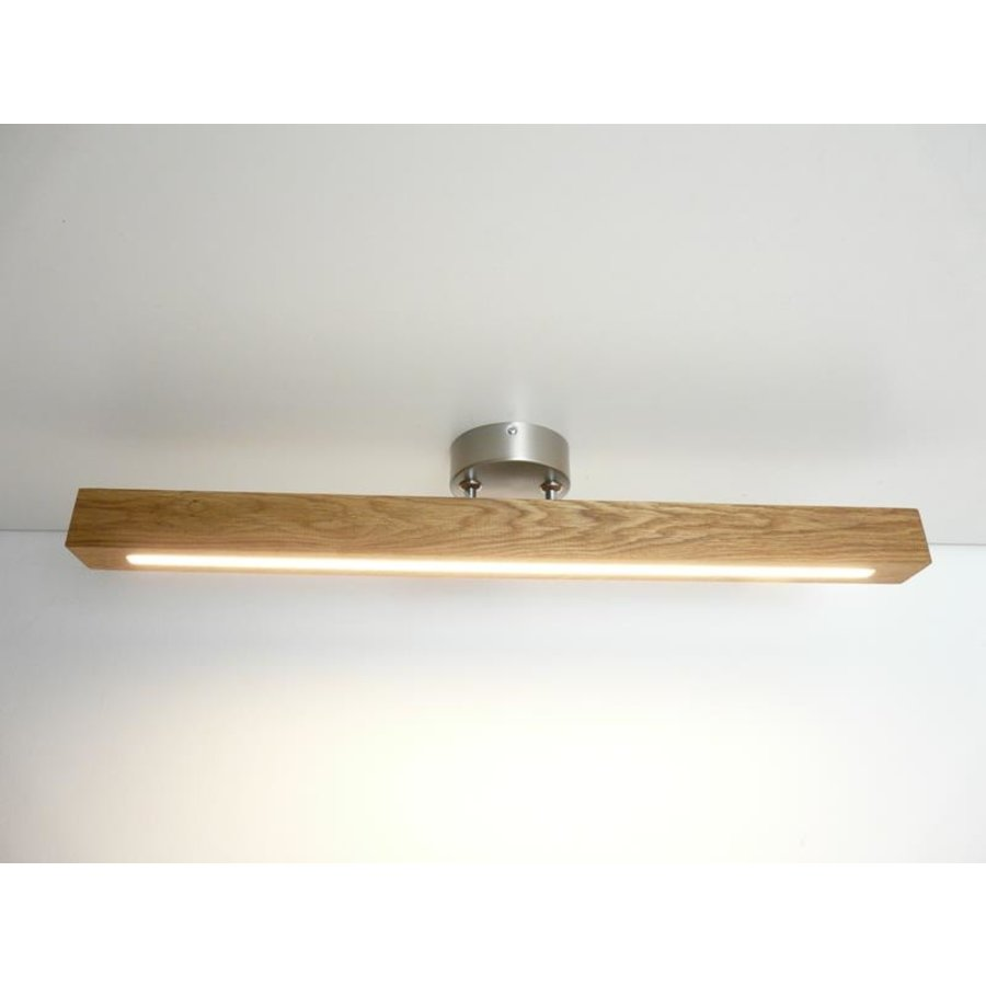 Deckenleuchte Holzlampe  Holz Eiche geölt-2