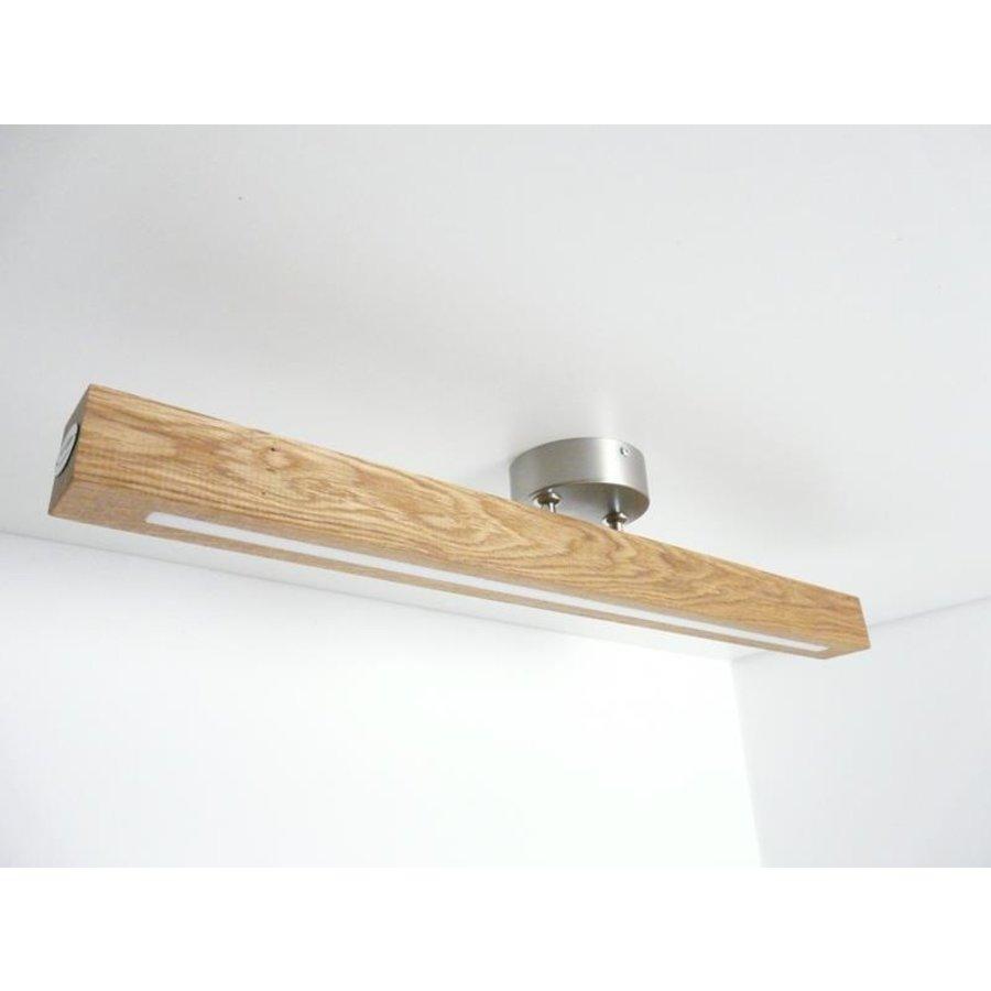 Deckenleuchte Holzlampe  Holz Eiche geölt-7