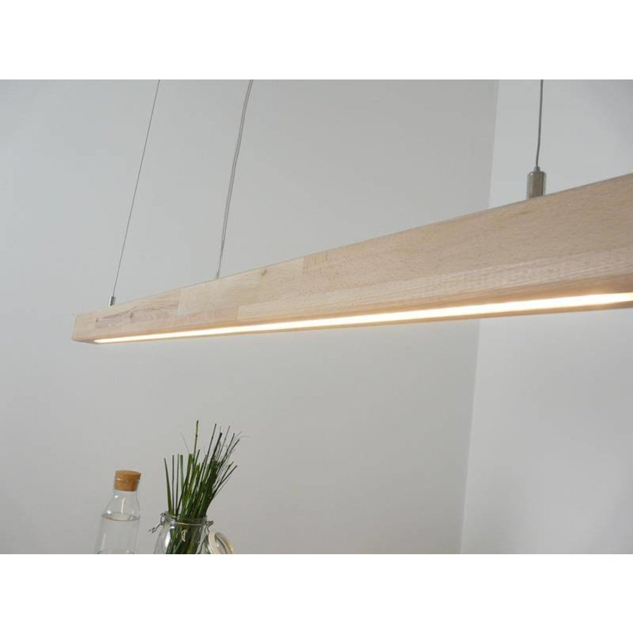 Hängelampe Esstischlampe Holz Buche-4