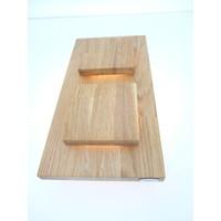 thumb-Wandleuchte Holz Eiche 2-fl.-5