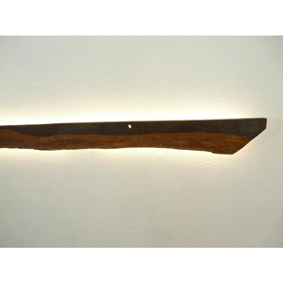 dekorative Led Wandlampe aus antiken Holz-2