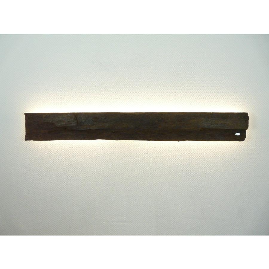dekorative Led Wandlampe aus antiken Holz-1