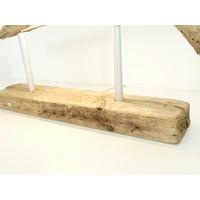 thumb-Tischleuchte Treibholz  Skulptur-3