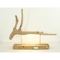 thumb-Tischleuchte Treibholz  Skulptur-7