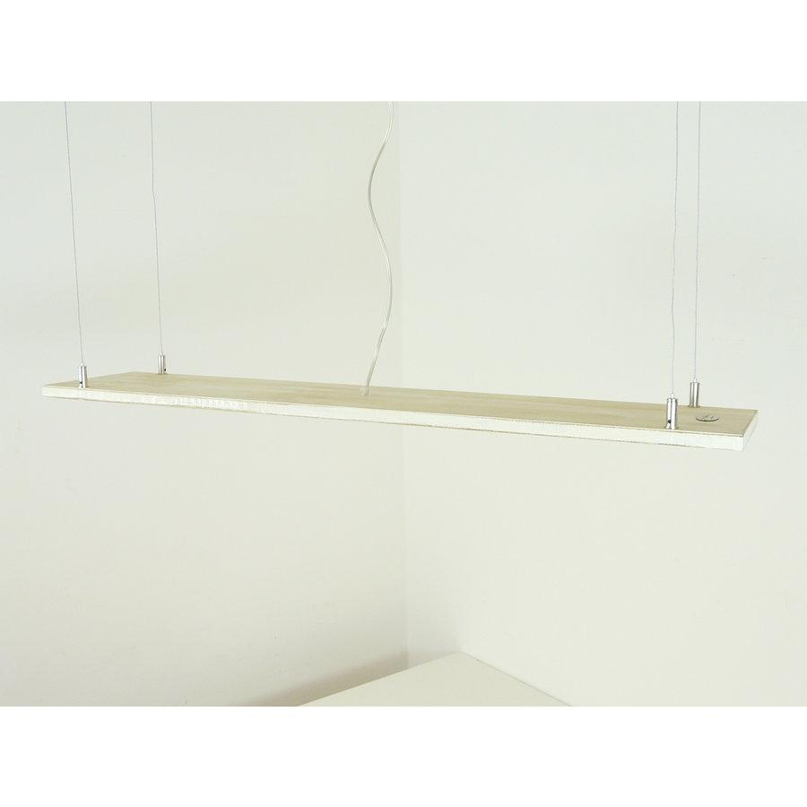 Shabby chic Holz Leuchte 120 cm-10