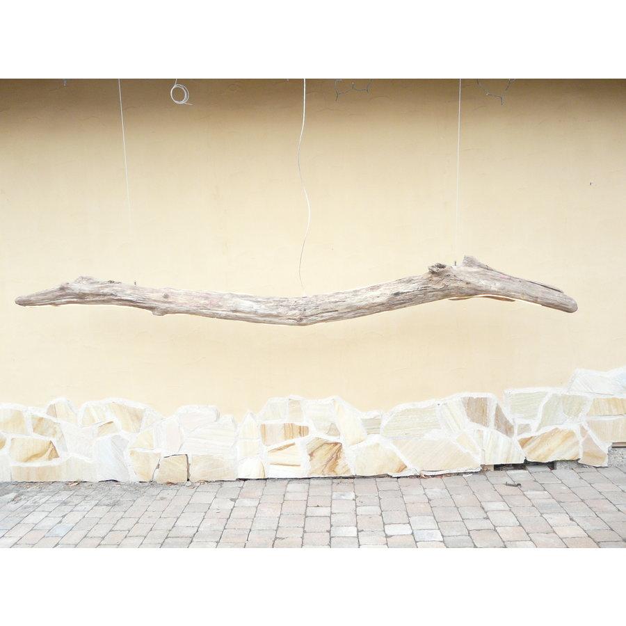 riesengroße Treibholz Hängeleuchte-3