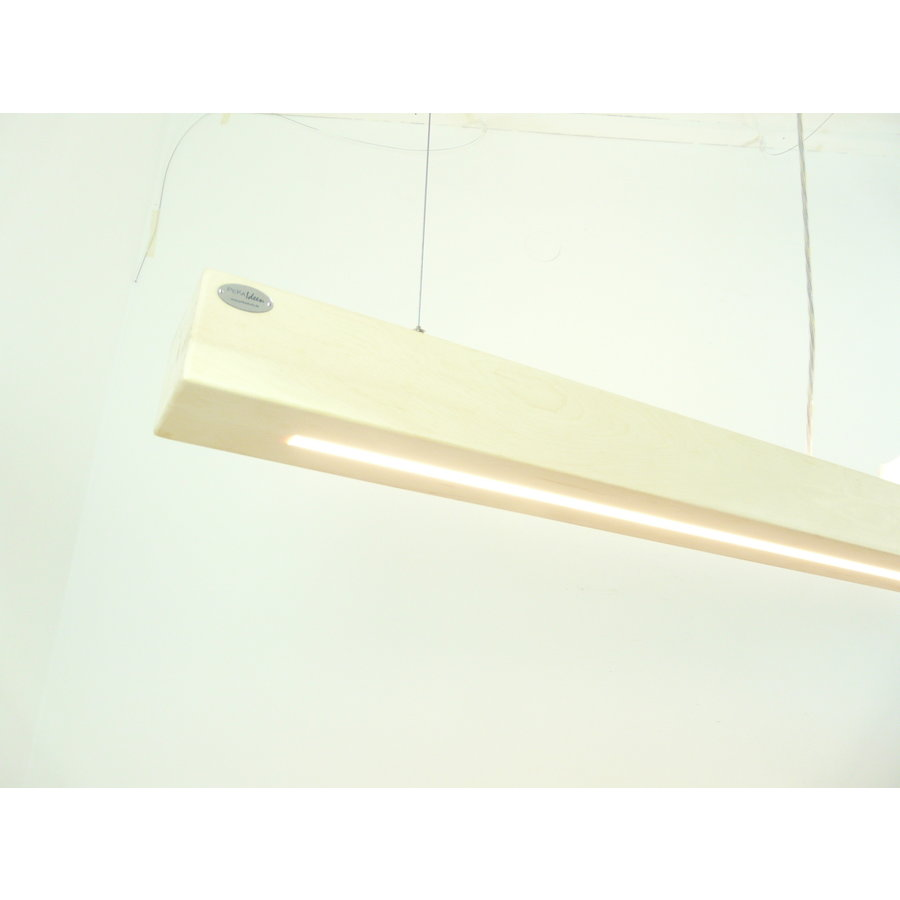 Esstischlampe Hängeleuchte aus Zirbenholz   117 cm-3