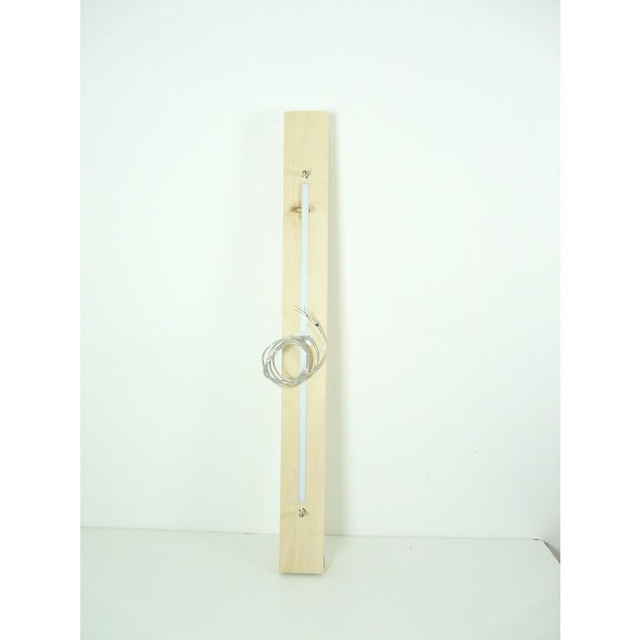 Esstischlampe Hängeleuchte aus Zirbenholz   117 cm-7