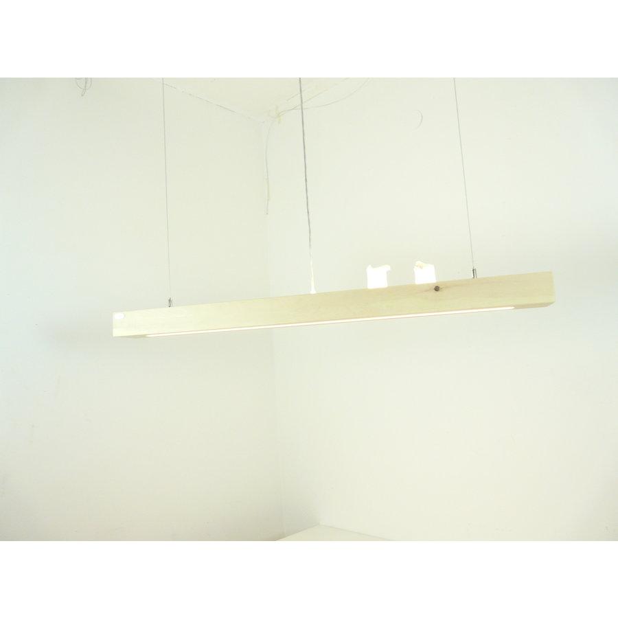 Esstischlampe Hängeleuchte aus Zirbenholz   117 cm-6