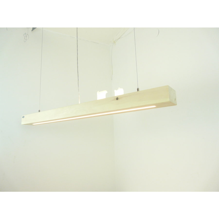 Esstischlampe Hängeleuchte aus Zirbenholz   117 cm-5