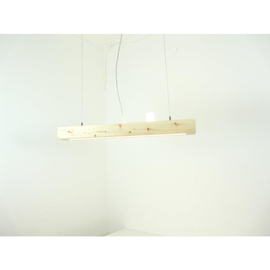 Esstischlampe Hängeleuchte aus Zirbenholz   80 cm-2