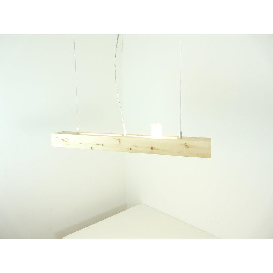 Esstischlampe Hängeleuchte aus Zirbenholz   80 cm-3