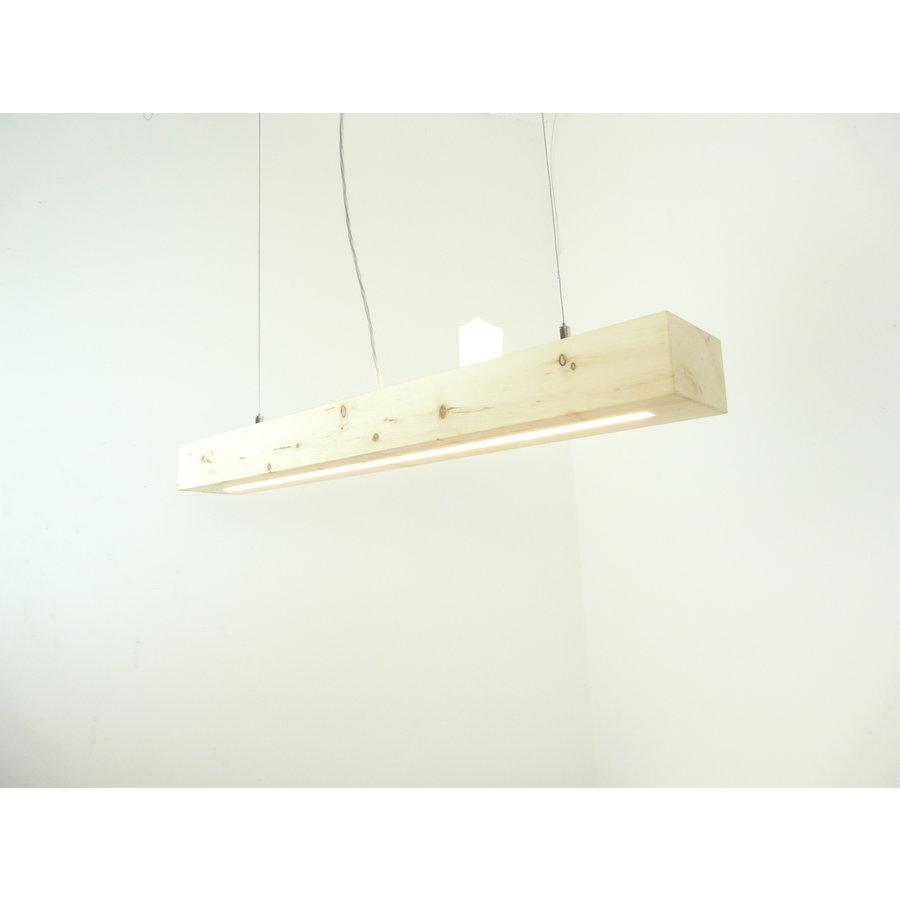 Esstischlampe Hängeleuchte aus Zirbenholz   80 cm-4