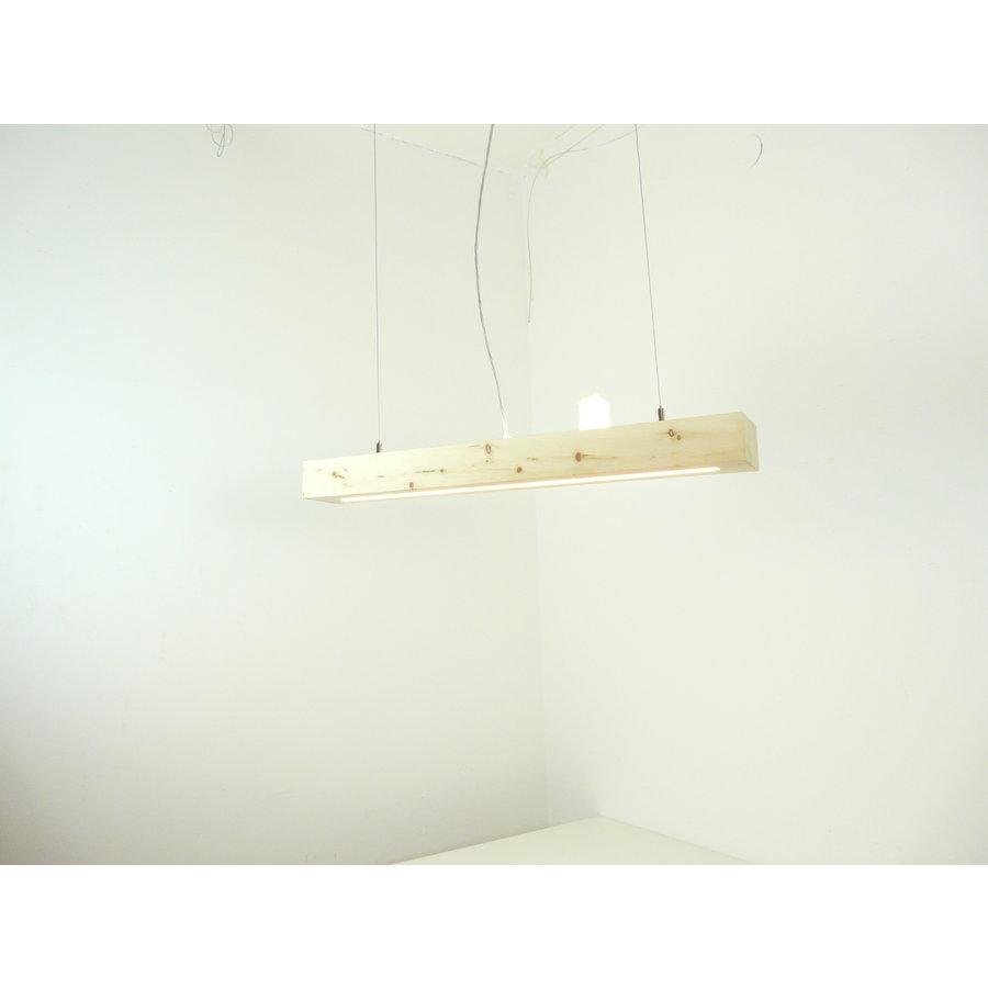 Esstischlampe Hängeleuchte aus Zirbenholz   80 cm-5