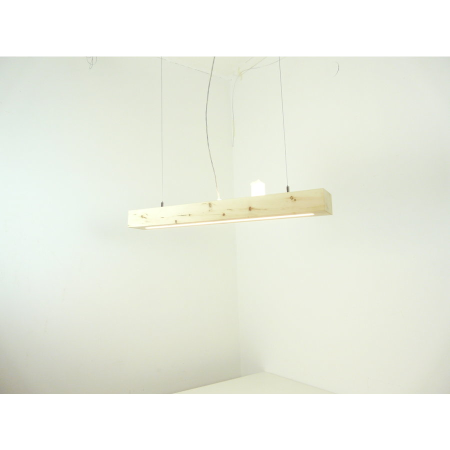 Esstischlampe Hängeleuchte aus Zirbenholz   80 cm-6