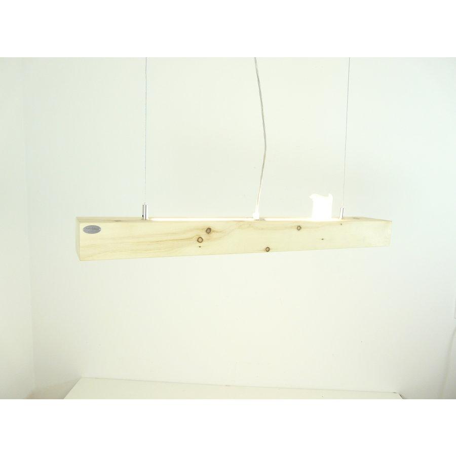 Esstischlampe Hängeleuchte aus Zirbenholz   80 cm-7