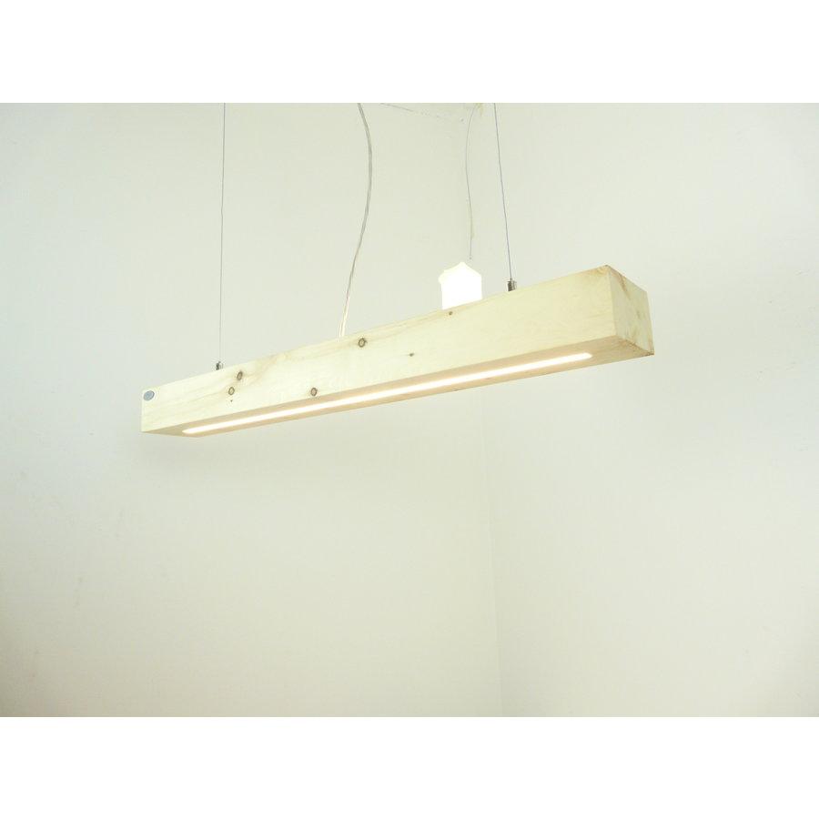 Esstischlampe Hängeleuchte aus Zirbenholz   80 cm-1
