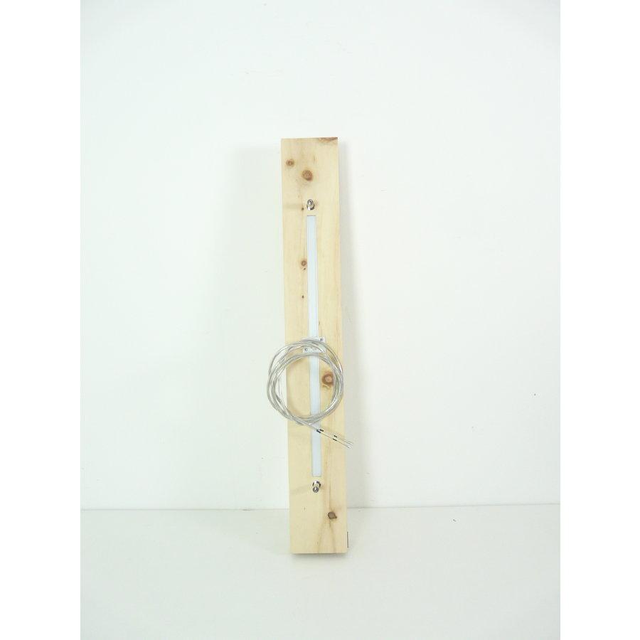 Esstischlampe Hängeleuchte aus Zirbenholz   80 cm-8
