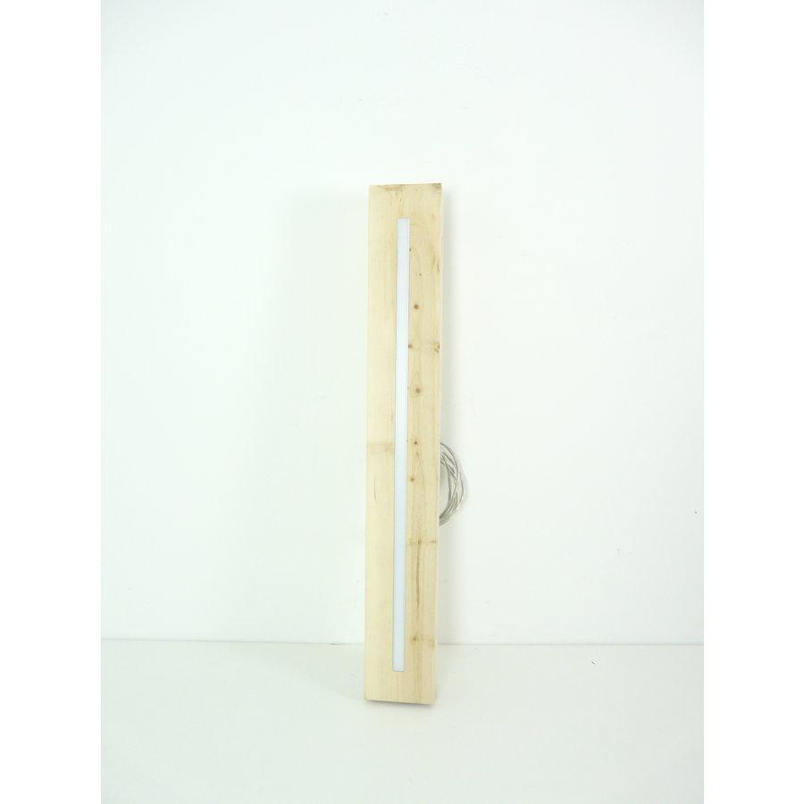 Esstischlampe Hängeleuchte aus Zirbenholz   80 cm-9