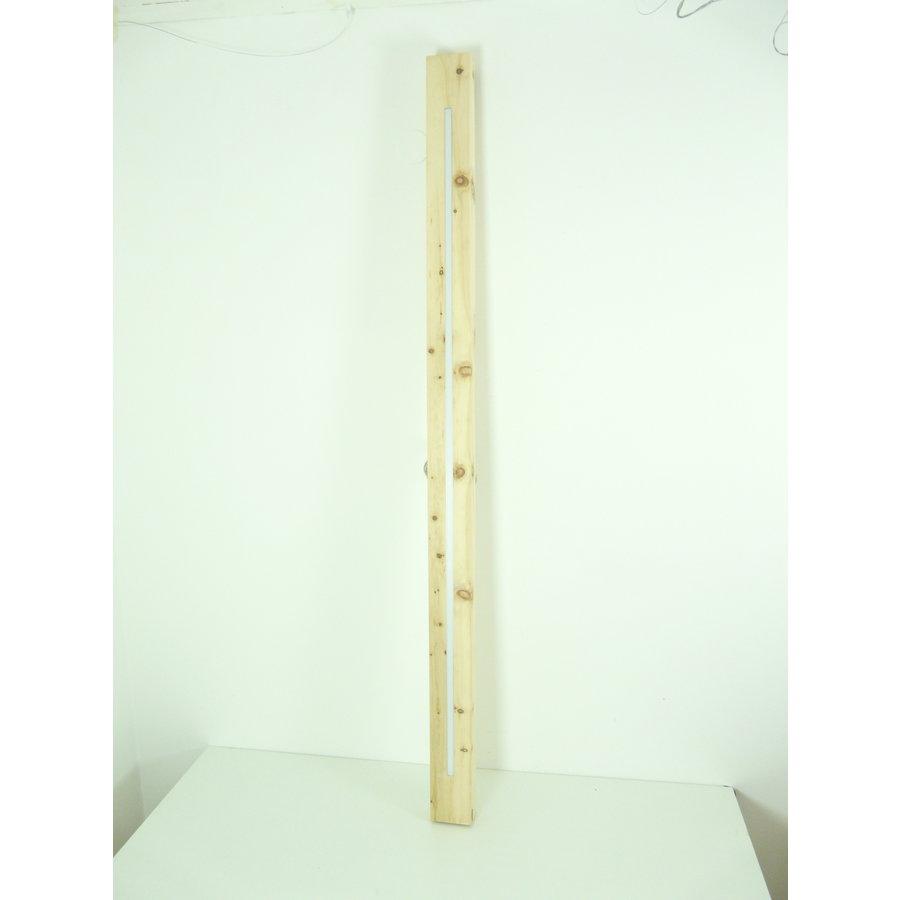 Esstischlampe Hängeleuchte aus Zirbenholz   196 cm-7