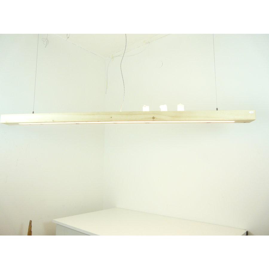 Esstischlampe Hängeleuchte aus Zirbenholz   196 cm-4