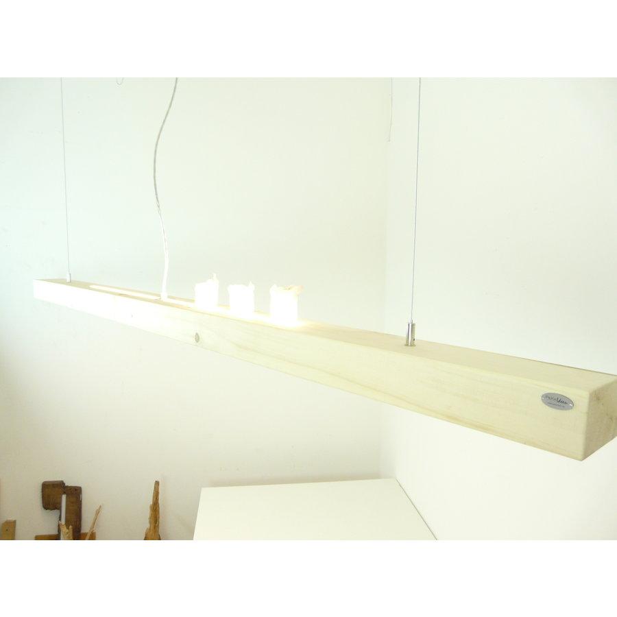 Esstischlampe Hängeleuchte aus Zirbenholz   196 cm-1
