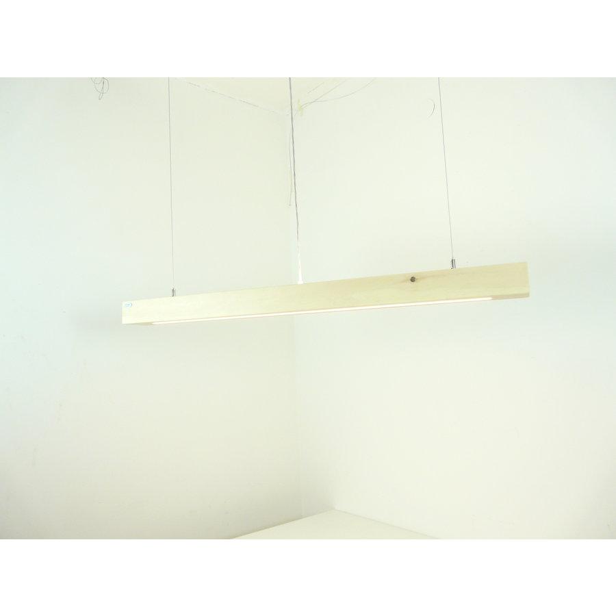 Esstischlampe Hängeleuchte aus Zirbenholz   117 cm-4